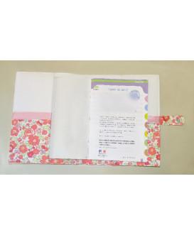 Protège carnet de santé rigide personnalisable - Cadeau de naissance personnalisé - oiseau liberty