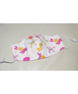 Masque en tissu enfant - Lavable et réutilisable - thème océan